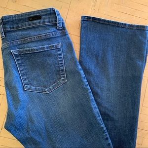 Kut from the Cloth Boot Cut Jeans Size 8 VGUC Dark
